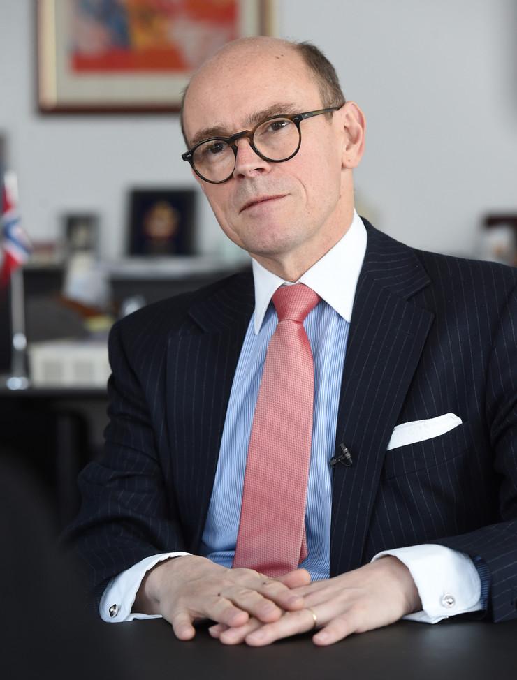 Arne Sanes Bjornstad, Norveška, Ambasador