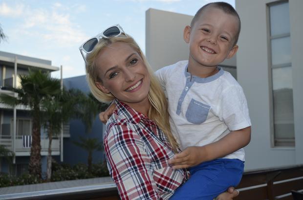 Aida Bella z synem