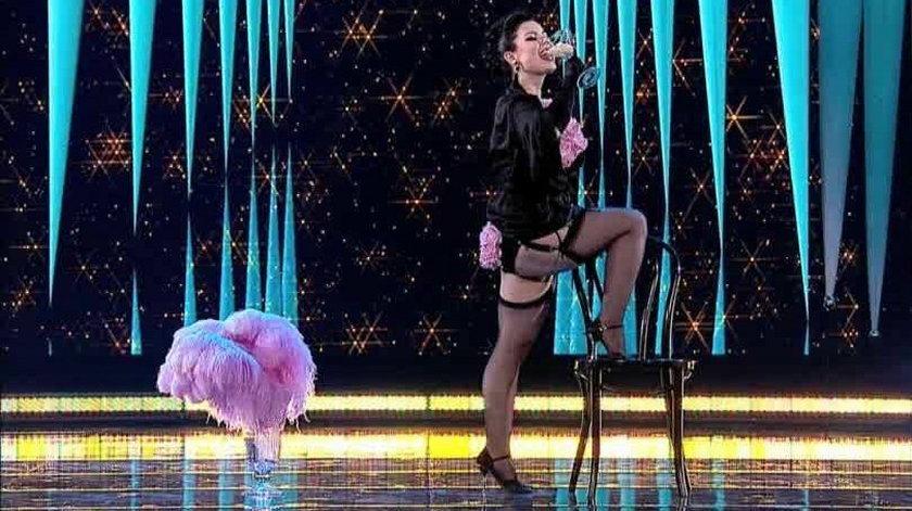 Tancerka rozbiera się w polsatowskim show?