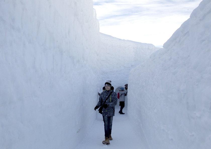 Śnieżne korytarze