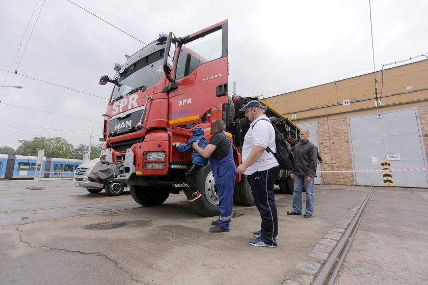 Dzień otwarty MPK w zajezdni Borek przy ul. Powstańców Śląskich
