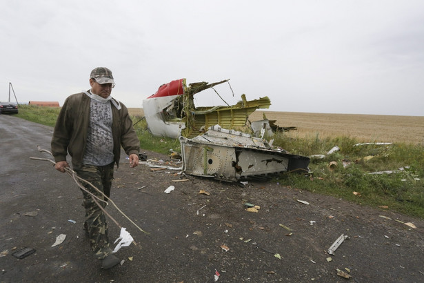 Malezyjski boeing został zestrzelony nad Ukrainą 17 lipca EPA/ANASTASIA VLASOVA