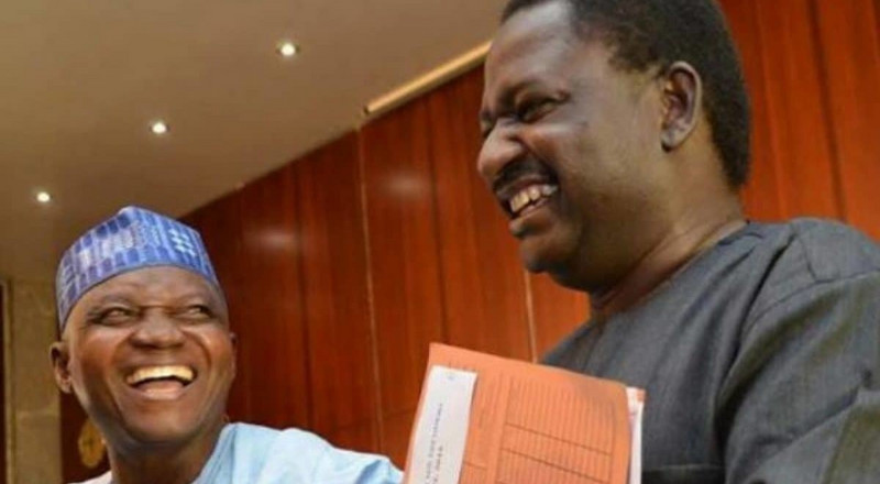 Adesina: 'Buhari gave me an envelope filled with foreign currency, I won't tell you how much'