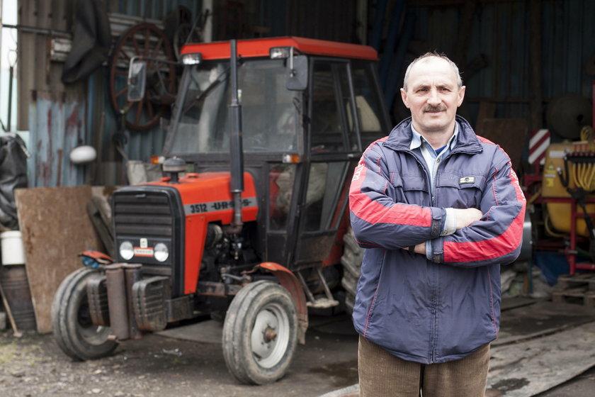 Dominik Putek (47 l.), rolnik