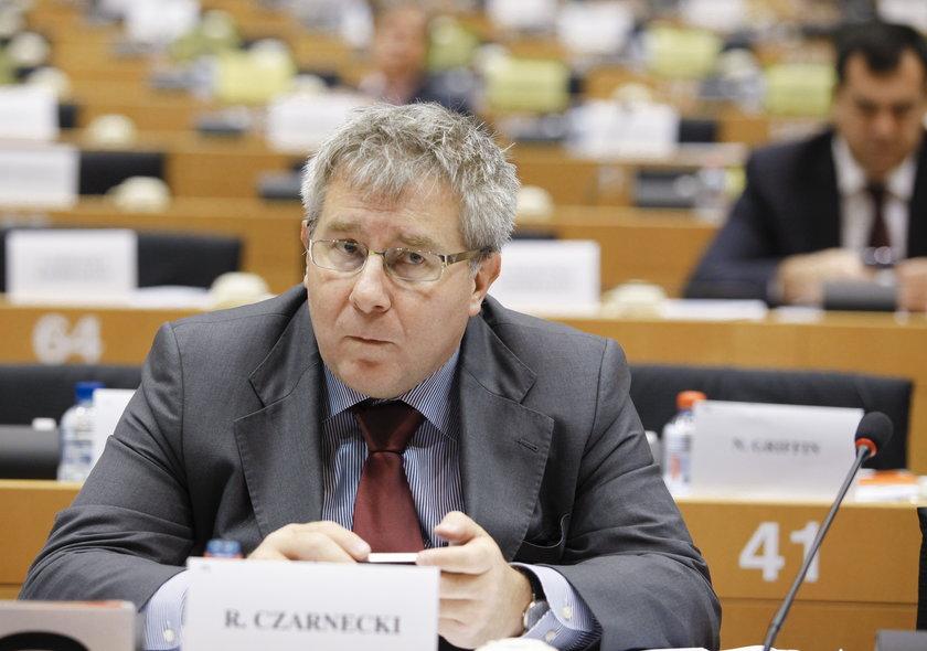 Wypowiedź europosła Czarneckiego poruszyła Rosję