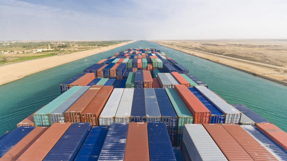 Kanał Sueski, Egipt
