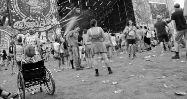 Publiczność na Przystanku Woodstock