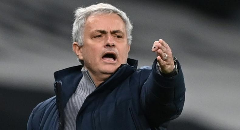 Jose Mourinho was sacked by Tottenham after just 17 months in charge on Monday