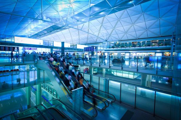 Lotnisko w Hongkongu