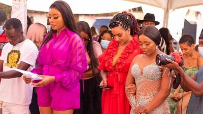 Juliet Ibrahim, Vanessa Gyan, Sister Derby, Cookie Tee, others attend Wanneka Luxury Hair outlet launch in Ghana (PHOTOS)