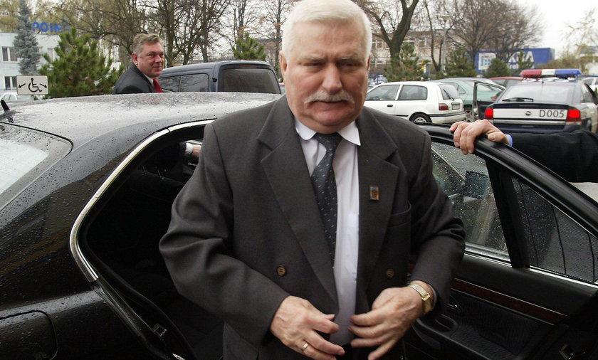 Lech Wałęsa nie chce przekazać próbek swojego pisma IPN
