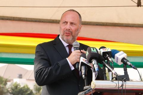 H. E Andras Szabo, Ambassador of Hungary to Ghana