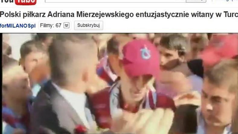 Mierzejewski na lotnisku w Turcji