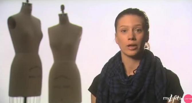 Kristina Sajko 2010. u američkom šouu