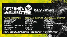 Cieszanów Rock Festiwal 2017: informacje praktyczne