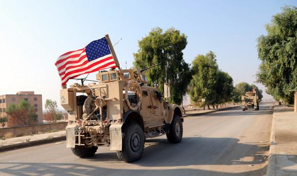 Američka vojska se povukla sa severa Sirije