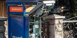 Wysadzony bankomat w Zakopanem