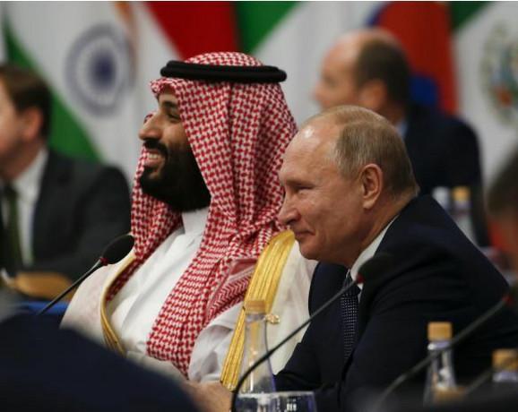 Vladimir Putin i Mohamed bin Salman