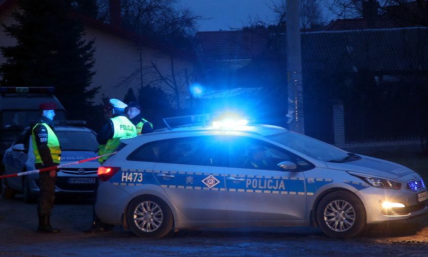 Gdańsk. Pościg i obława na kierowcę. Staranował radiowóz, padły strzały!
