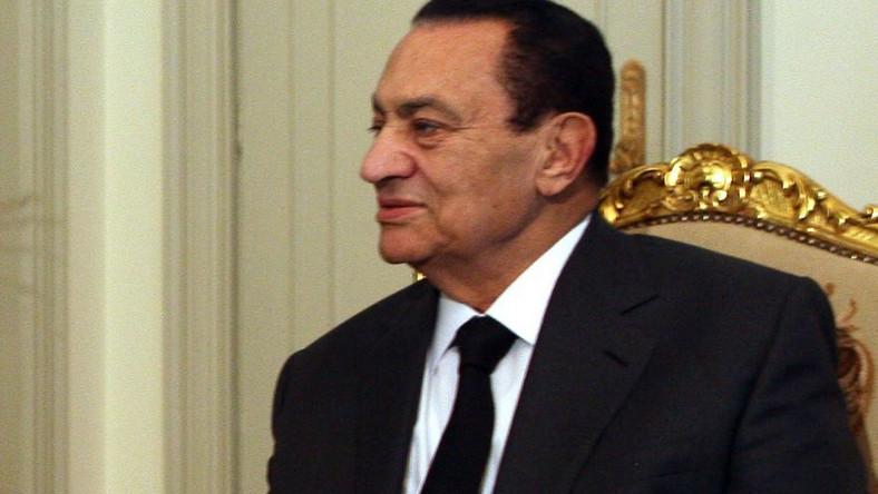Egipski prezydent Hosni Mubarak był wyjątkowo gościnny dla francuskiego premiera