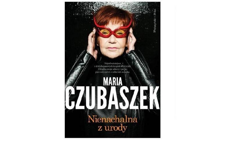 """okładka książki Marii Czubaszek """"Nienachalna z urody"""""""