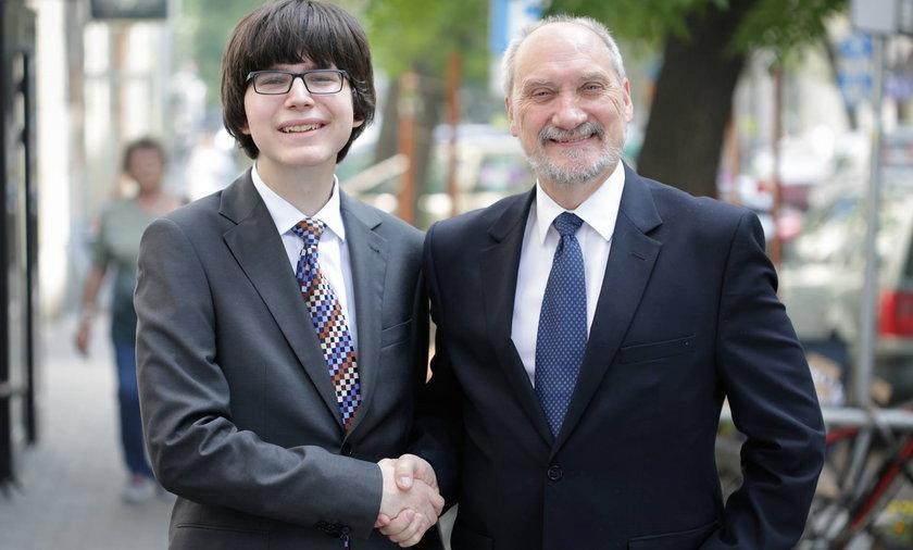 Edmund Janniger i Antoni Macierewicz