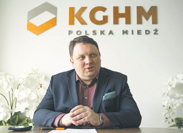Marcin Chludziński, prezes KGHM Polska Miedź