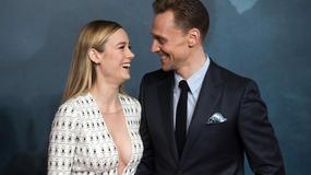 "Brie Larson i Tom Hiddleston na premierze ""Kong: Wyspa Czaszki"""