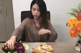kineskinja pile ručak posao