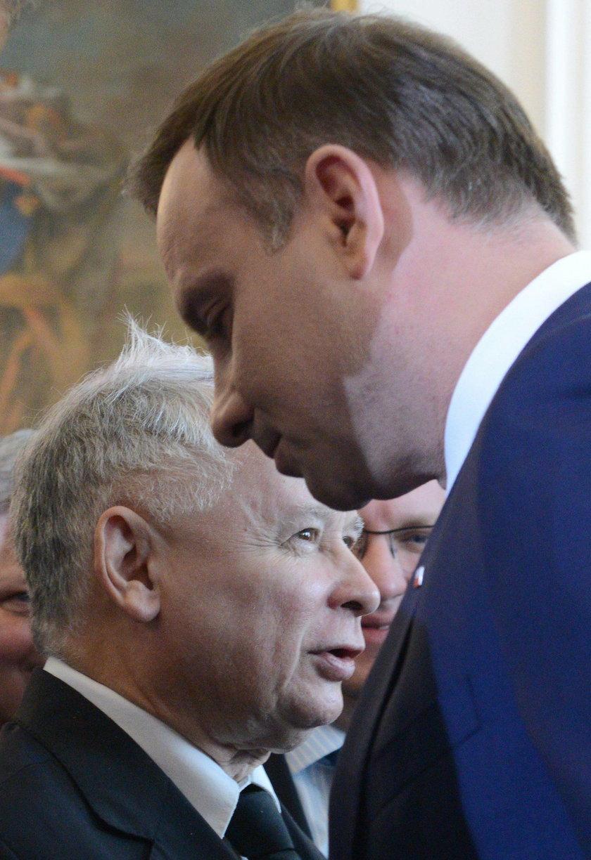 Andrzej Duda Jarosław Kaczyński Krzysztof Szczerski