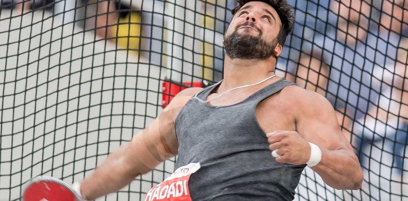 Legenda irańskiego sportu zakażona koronawirusem. To rywal Małachowskiego