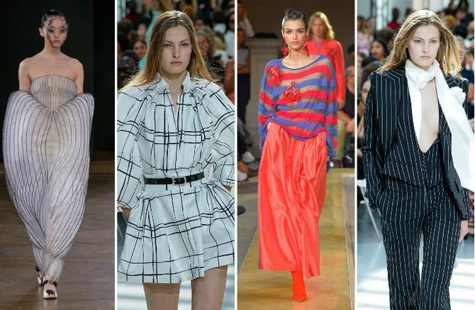 Svet geometrije kao večna modna inspiracija
