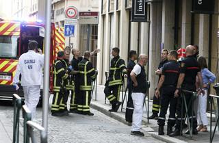 13 osób zostało rannych na skutek eksplozji w Lyonie