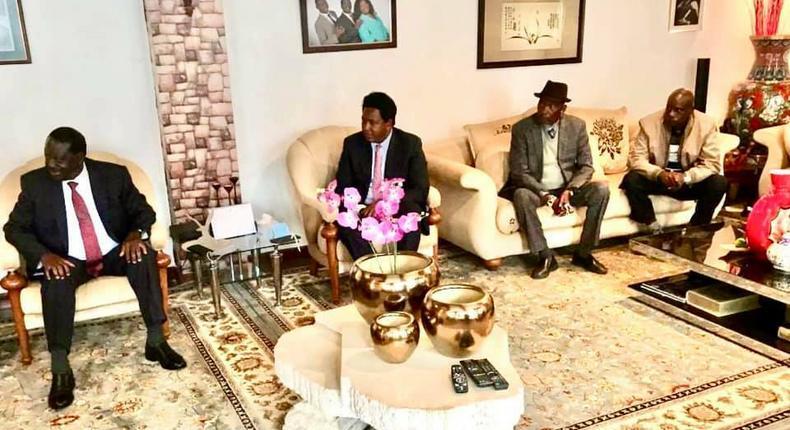 I have forgiven Senator Ledama ole Kina after he surrendered & apologized - Raila Odinga