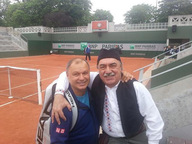 Marjan Vajda, Noletov trener, i Žarko Petković