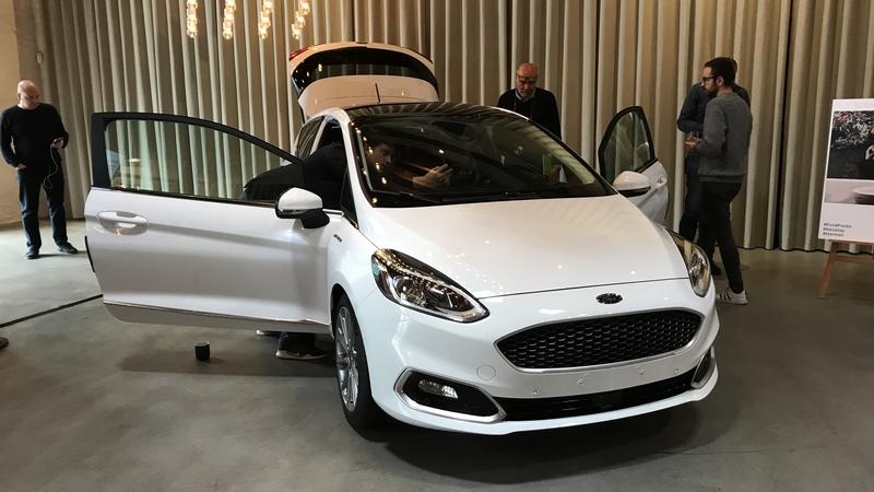 Ford Fiesta to pierwszy model Forda z systemem B&O Play