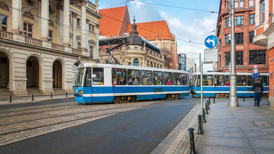 Wrocławski tramwaj (ilustracyjne)