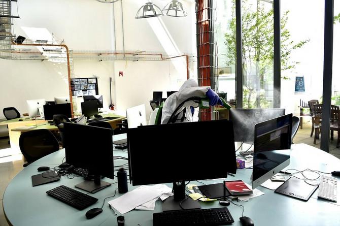 Dezinfekcija kancelarija