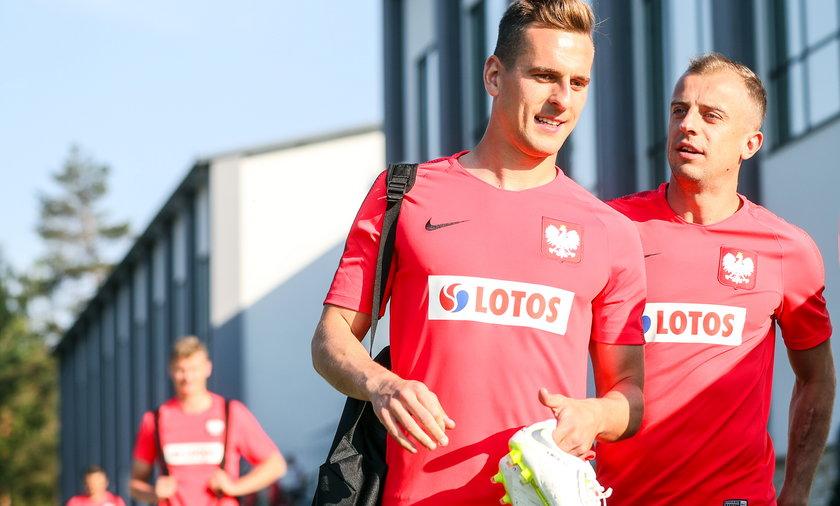 Arkadiusz Milik i Kamil Grosicki nie spotkali się na zgrupowaniu reprezentacji Polski przed Euro 2020
