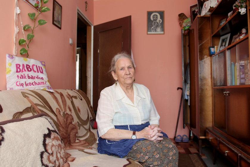 85-letnia Zofia Pilarska