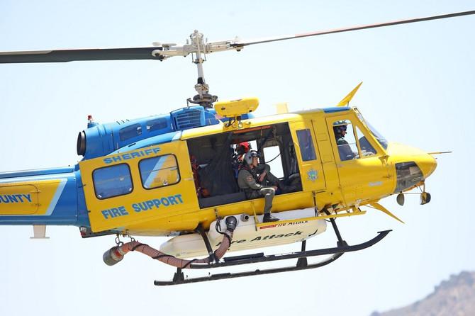 Helikopteri kruže nad jezerom koje je zatvoreno za javnost