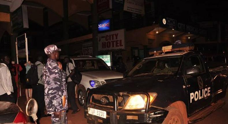 Police raid at the hotel where Bobi Wine was staying in Jinja