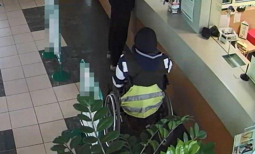 Wjechał na wózku inwalidzkim i ukradł pieniądze chorym dzieciom. Grozi mu 5 lat więzienia