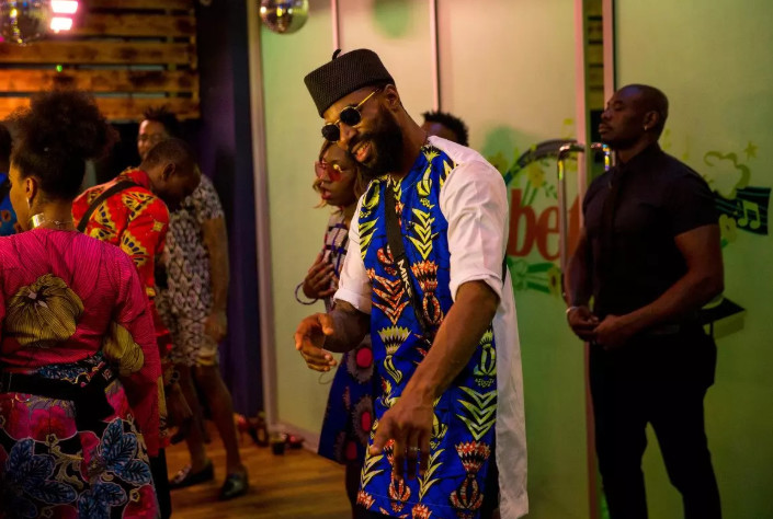 Young Mike Edwards is not only dishing out spice but he's also a popular BBNaija Pepper Dem housemate. [Africa Magic/BBNaija]