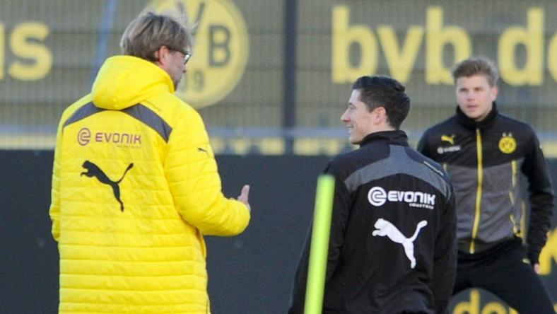 Juergen Klopp rozmawia z Lewandowskim dzień po ogłoszeniu transferu