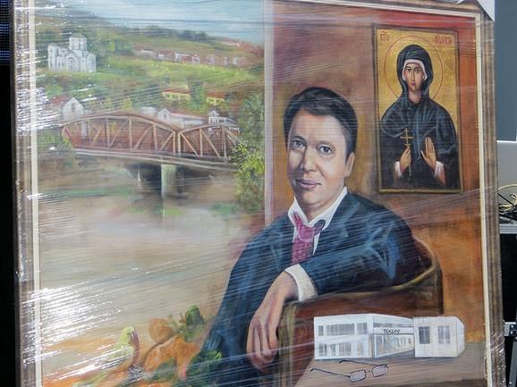 Ostala u celofanu: Slika koju su lokalne vlasti pripremile za premijera