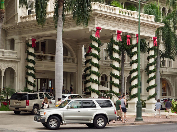 Hotel Moana na Havajima