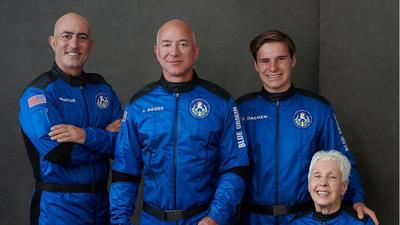 Companies will soon set up offices in Space, according to Jeff Bezos