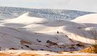 SNEG U SAHARI Ovako nešto nije viđeno 40 GODINA, a sada se u najtoplijoj pustinji pojavio i SNEŠKO BELIĆ (FOTO)