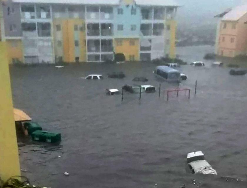 Huragan Irma sieje spustoszenie na terytoriach francuskich w archipelagu Małych Antyli